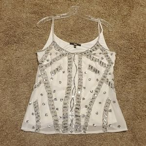 Beaded tank top size medium from buckle